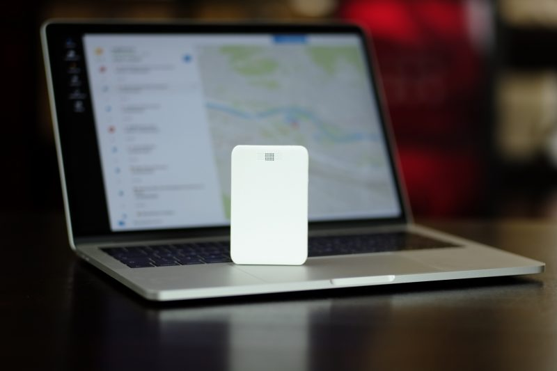 Trackee is all about tracking things in real-time