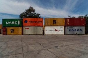 Smart container Shipping with Kizy Tracking