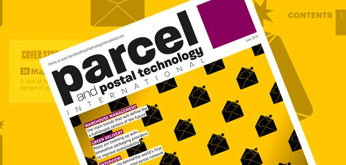 Cover for Parcel and Postal Technology International