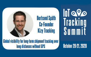 Kizy Tracking at the IoT Tracking Summit